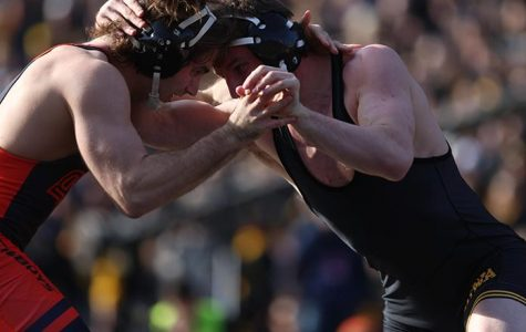 Brooks wins Wrestler of the Week