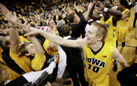 Hawkeyes show improvement in Spartan upset