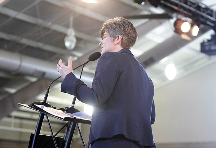 Senator+Joni+Ernst+of+Iowa+speaks+to+the+crowd+at+the+2015+Ag+Summit+on+Saturday%2C+March+7%2C+2015.+The+Ag+Summit+allowed+elected+officials+and+public+policy+leaders+to+have+a+discussion+with+the+public+on+issues+relating+to+Iowa+and+American+economy+with+a+highlight+on+agriculture.+%28The+Daily+Iowan%2FLexi+Brunk%29