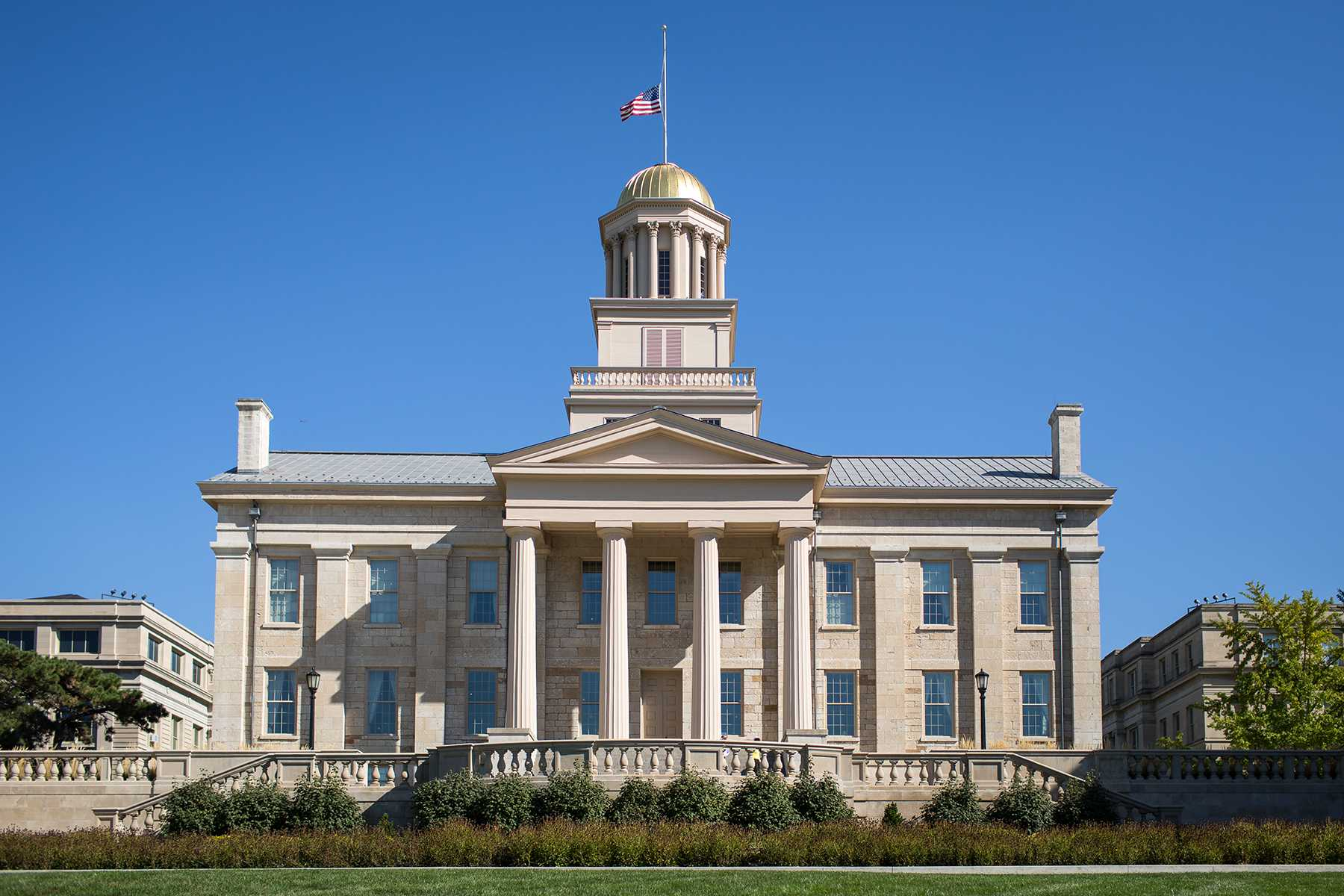 FILE - University of Iowa Old Capitol building. (File photo/The Daily Iowan)