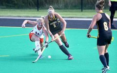 Field hockey falls to Northwestern in tourney