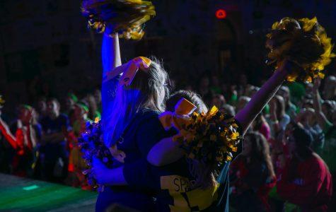 UI Hawkeye Sparkles shines at Dance Marathon