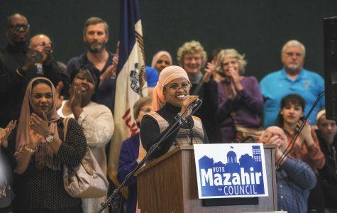 Iowa City City Council candidate Mazahir Salih hopes to bring diversity to council