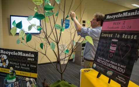 UI placed second in the Big Ten in RecycleMania 2018