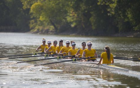 Young Iowa rowers start to rock the boat