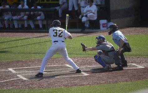 Baseball chalks up win in home opener