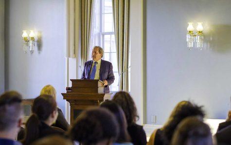Harreld addresses students' role in shared governance