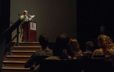 National Book Foundation executive director gives talk at The Englert on literature, unity