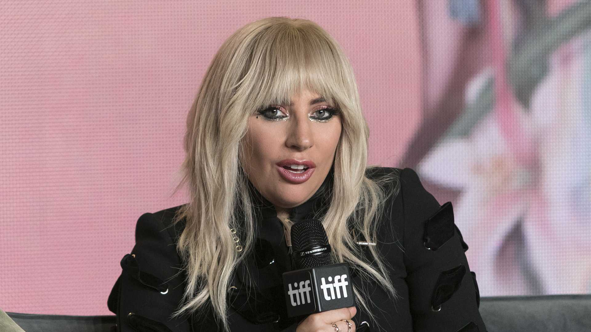 Lady Gaga attends a news conference during the Toronto International Film Festival, at Bell Lightbox in Toronto, Canada, on Sept. 8, 2017. (Hubert Boesl/DPA/Abaca Press/TNS)