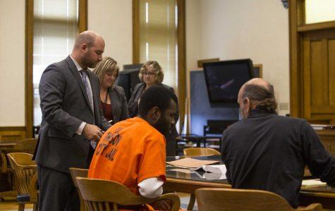 Photos: Lamar Wilson Johnson County court hearing (10/27/17)