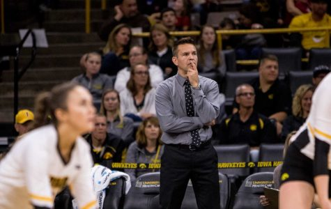 Iowa volleyball faces teams in its time zone