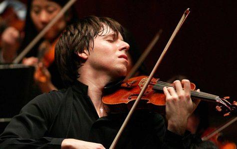World-famous violinist greets Hancher Auditorium
