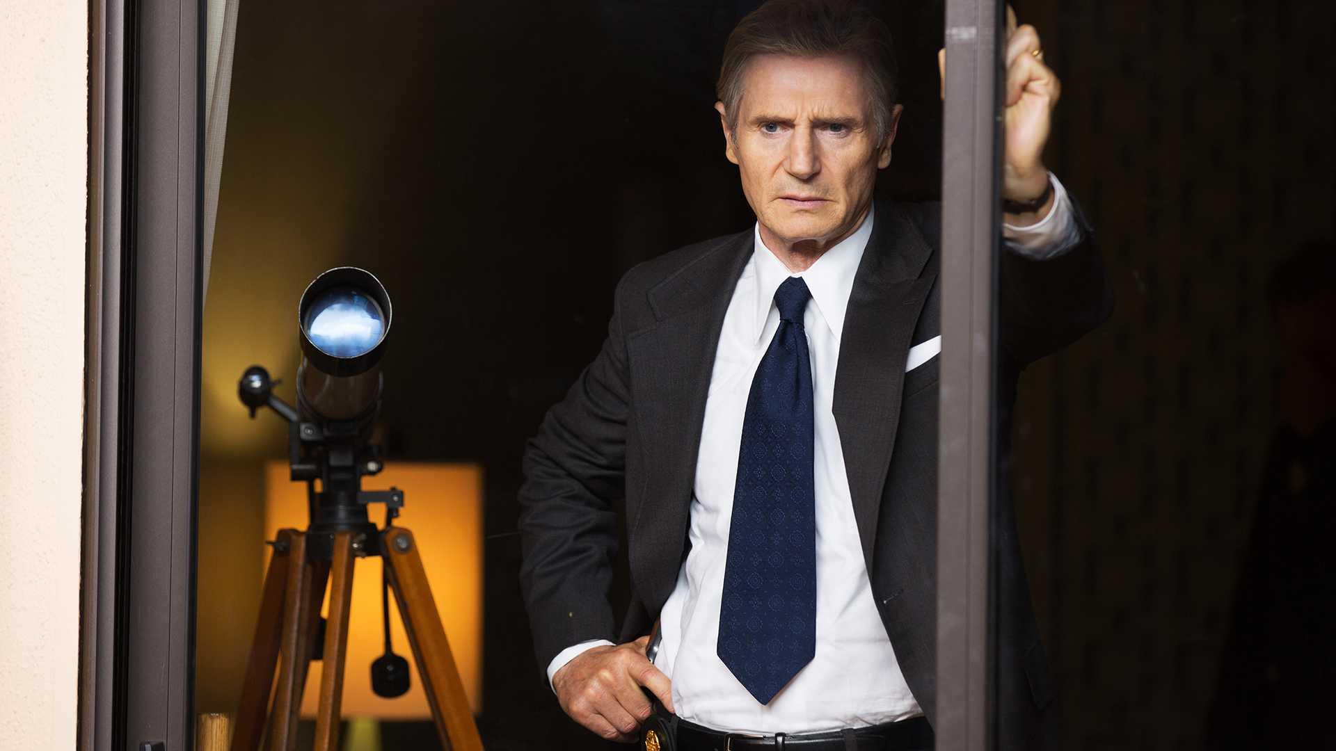 "Liam Neeson as Mark Felt in ""Mark Felt: The Man Who Brought Down the White House."" (Bob Mahoney/Sony Pictures Classics/TNS)"