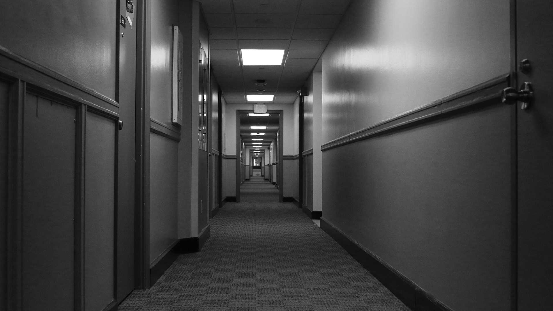 In the halls of Hillcrest as seen on Tuesday, Oct. 3, 2017. Hillcrest is one of the University of Iowa's Residence Halls. (Ashley Morris/The Daily Iowan)