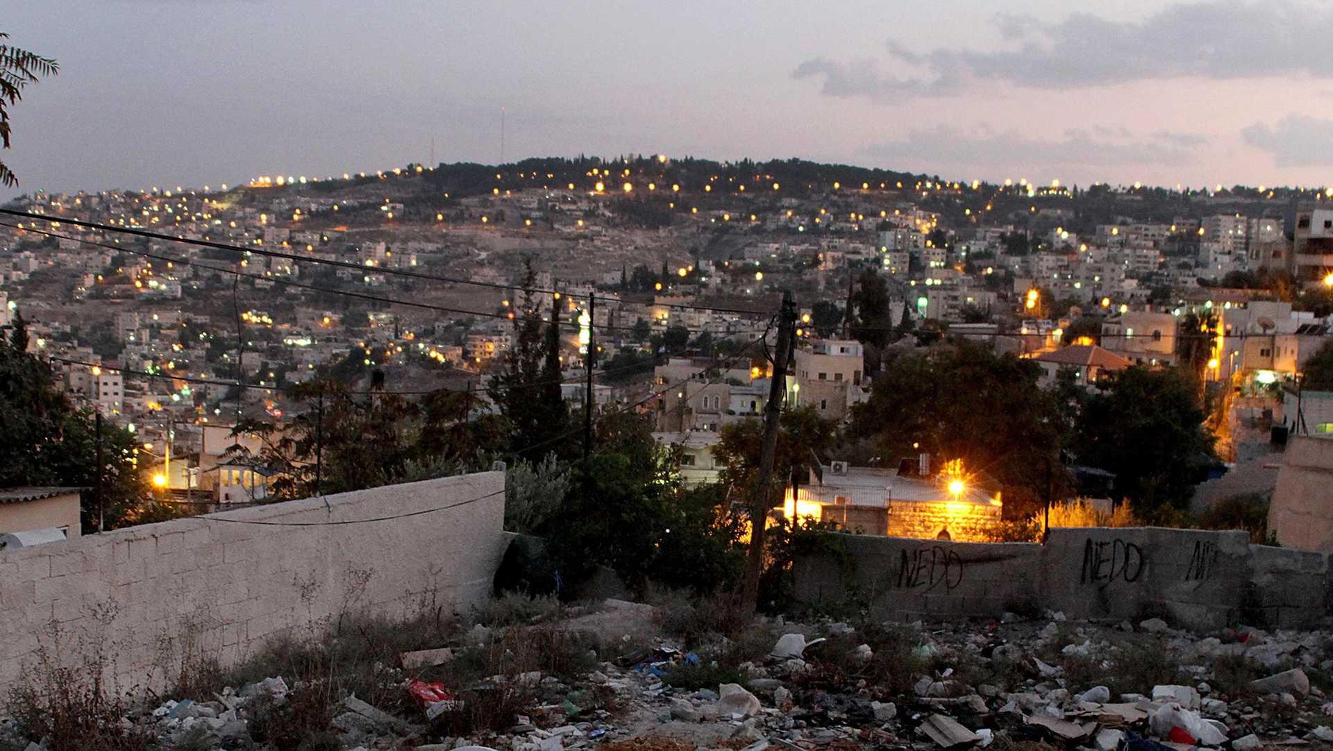 A general view of Silwan in East Jerusalem, on Wednesday, Oct. 1, 2014. (Quique Kierszenbaum/MCT)