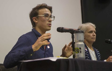 Iowa City City Council candidate Ryan Hall wants to bring young voices to the table