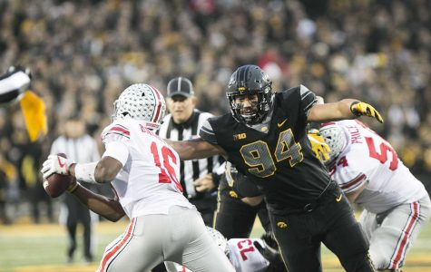 Iowa rolls into Wisconsin with momentum after Ohio State victory