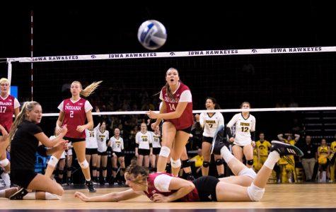 Photos: Iowa volleyball vs. Indiana