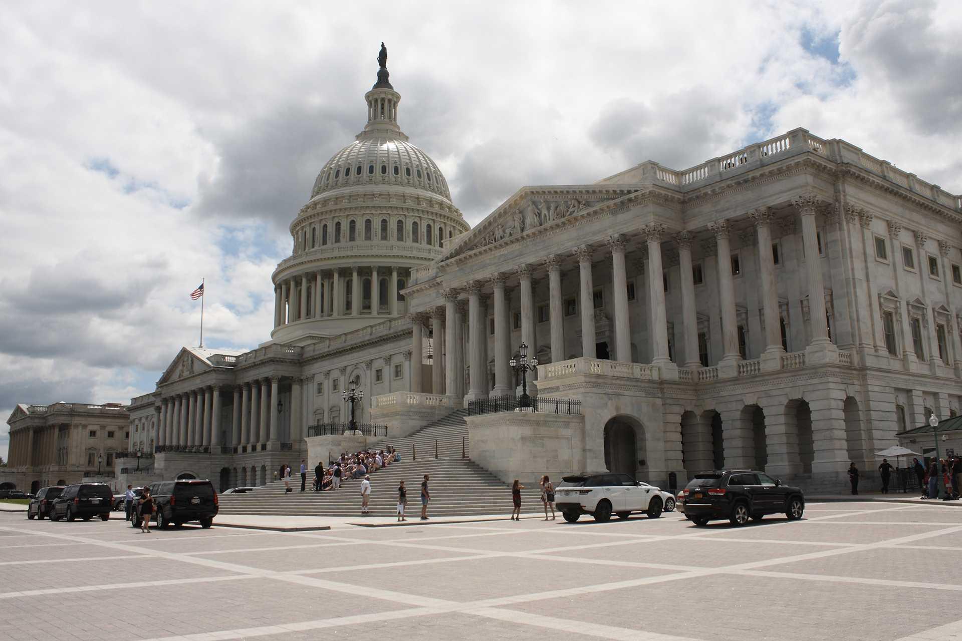 A view of the U.S. Capitol Building on July 25, 2017 in Washington, D.C. (Evan Golub/Zuma Press/TNS)