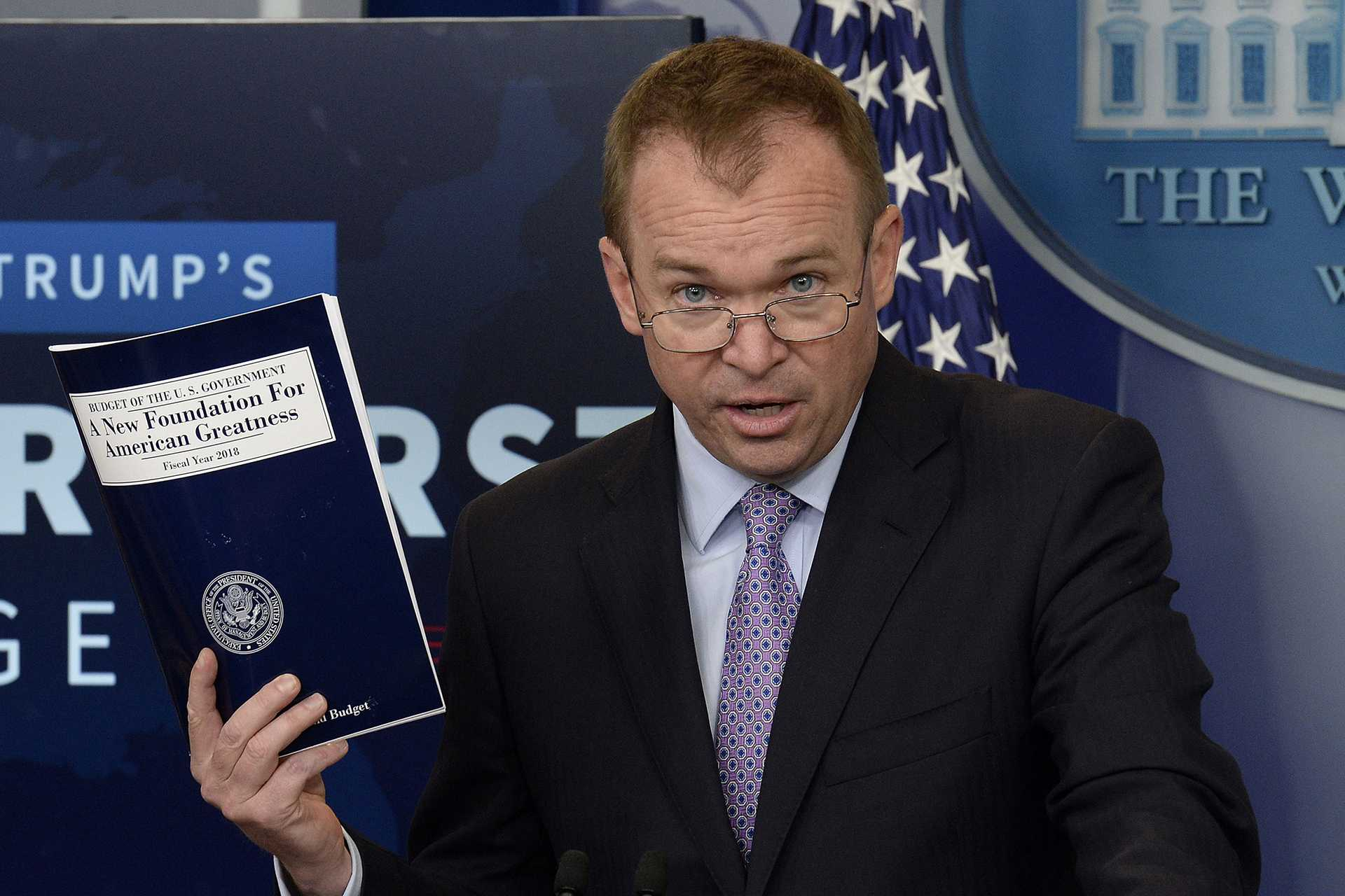 President Donald Trump is widely expected to name Mick Mulvaney, who serves as head of the White House Office of Management and Budget, as interim director of the Consumer Financial Protection Bureau. (Olivier Douliery/Abaca Press/TNS)