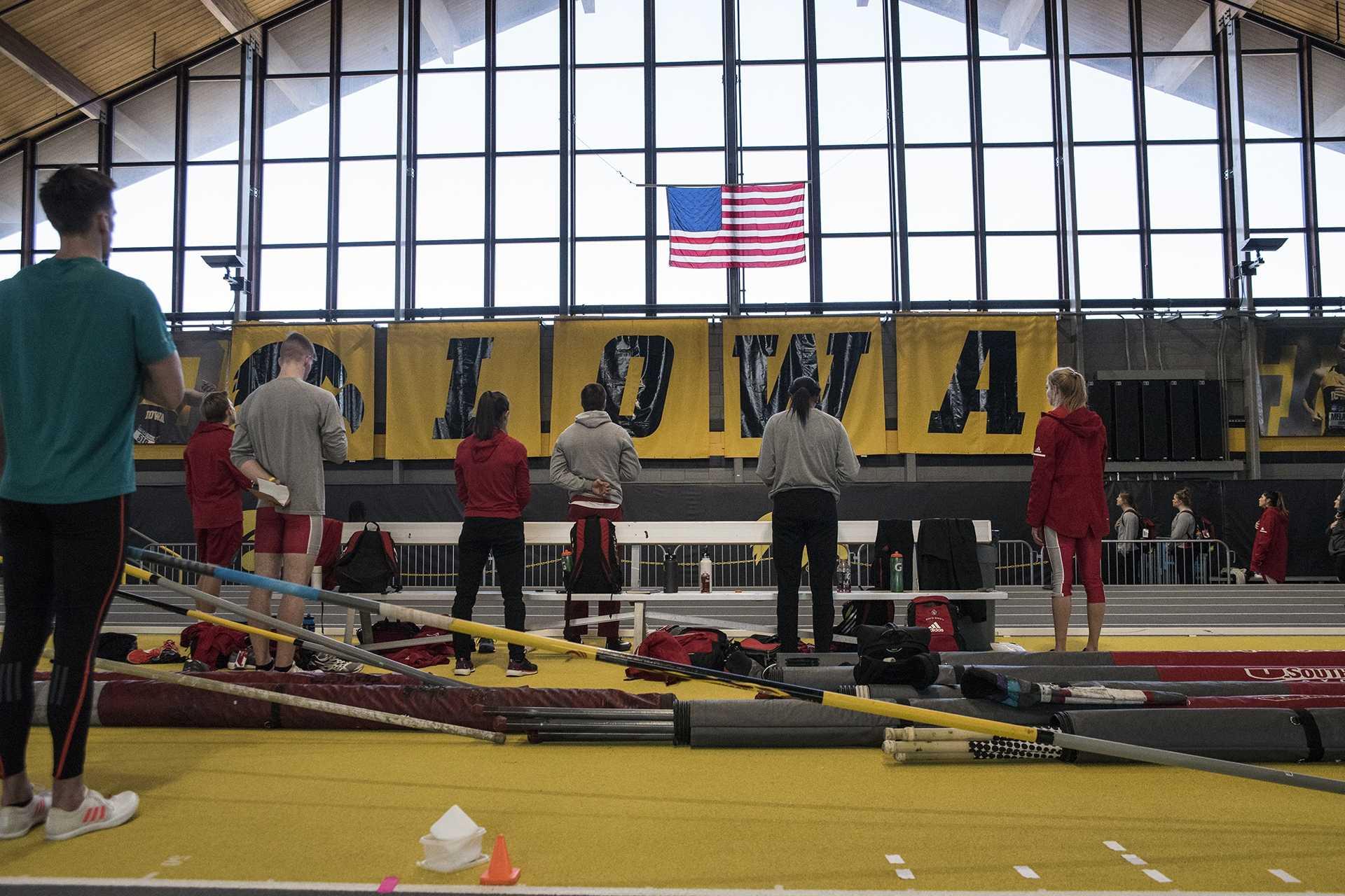 indoor track meet in kansas