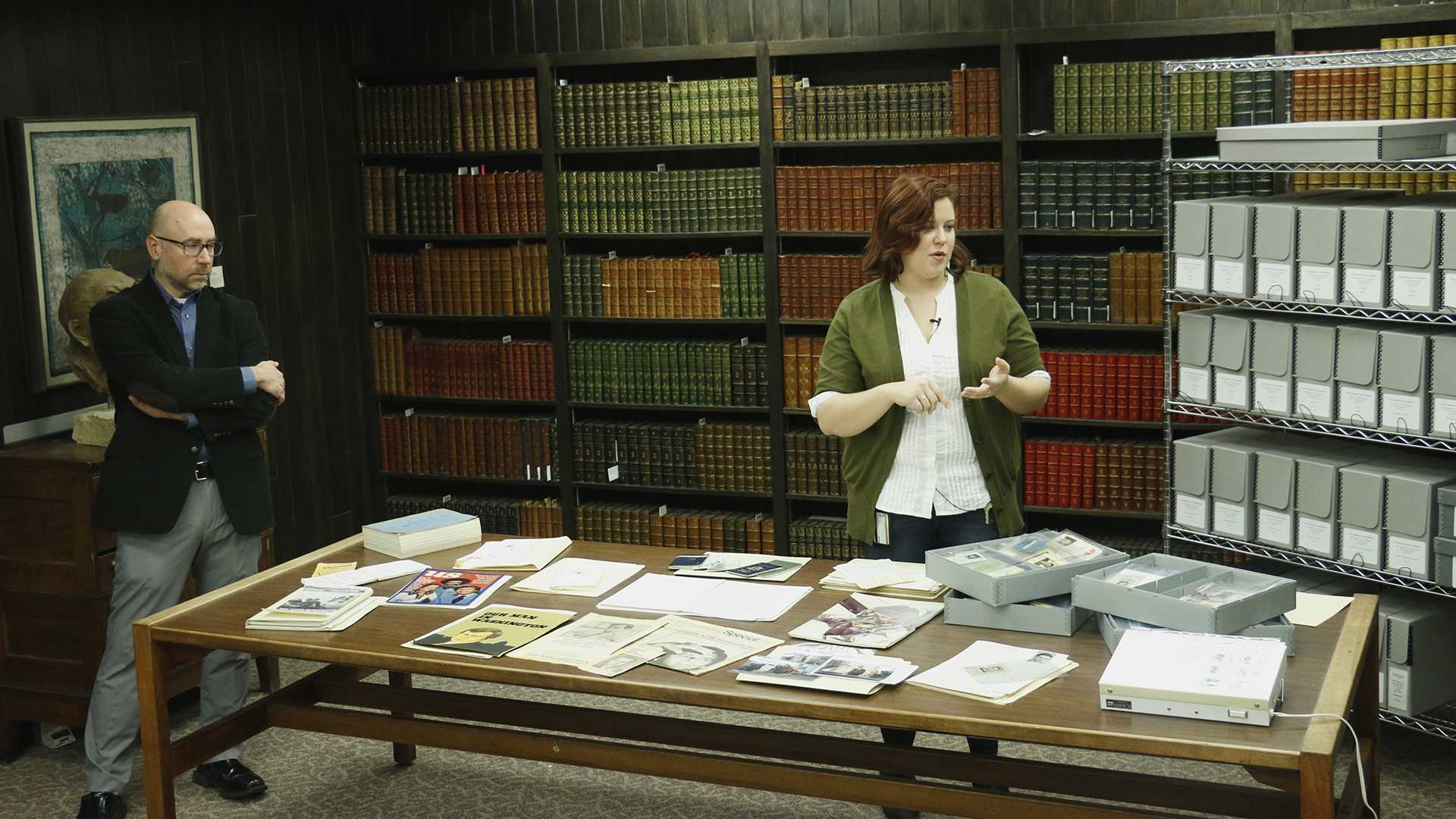 UI Library Opens Collection of Tom Brokaw's Work to Public