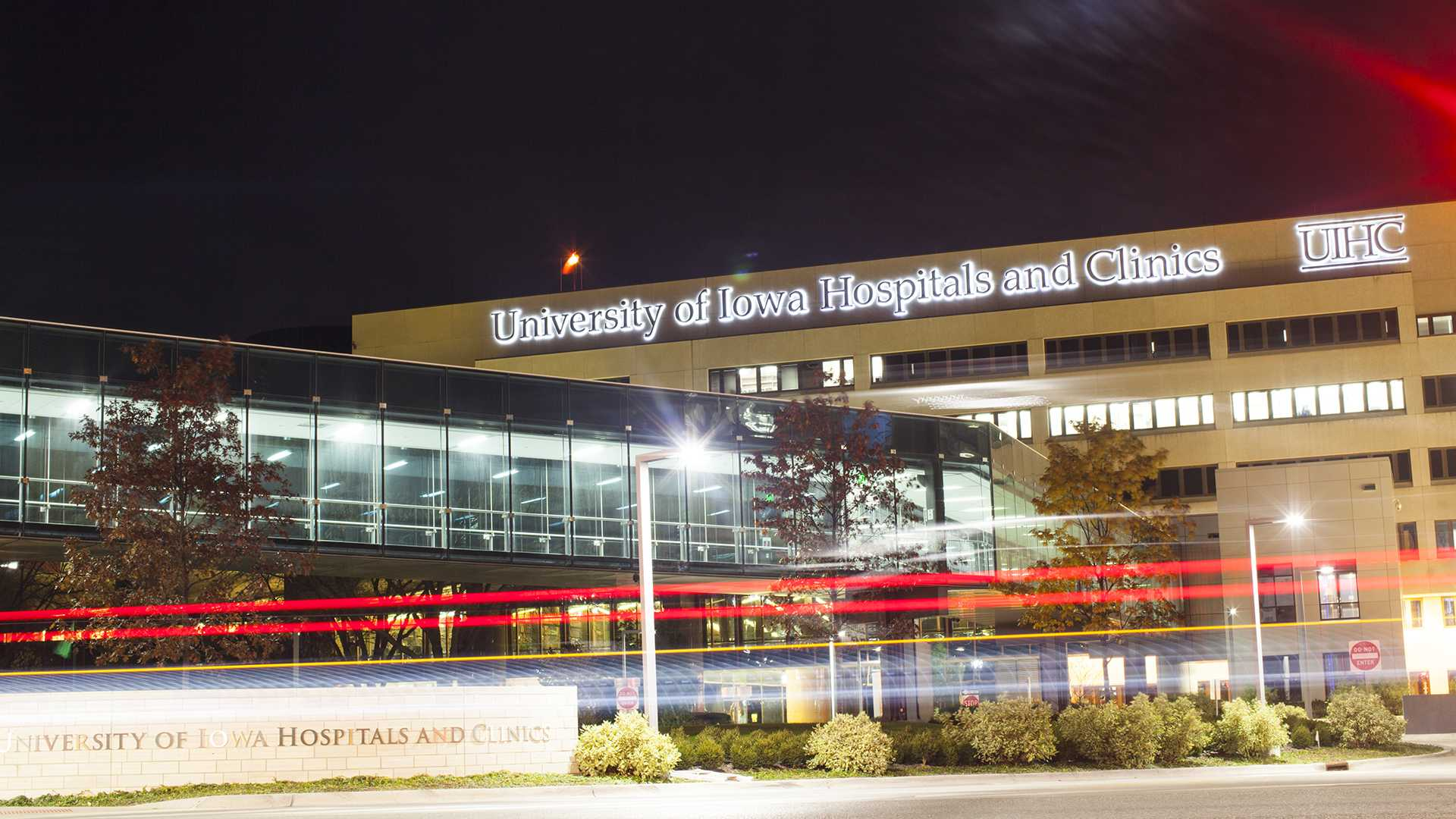 The University of Iowa Hospitals and Clinics building is seen from the west on Wednesday, Nov. 8, 2017.(Joseph Cress/The Daily Iowan)