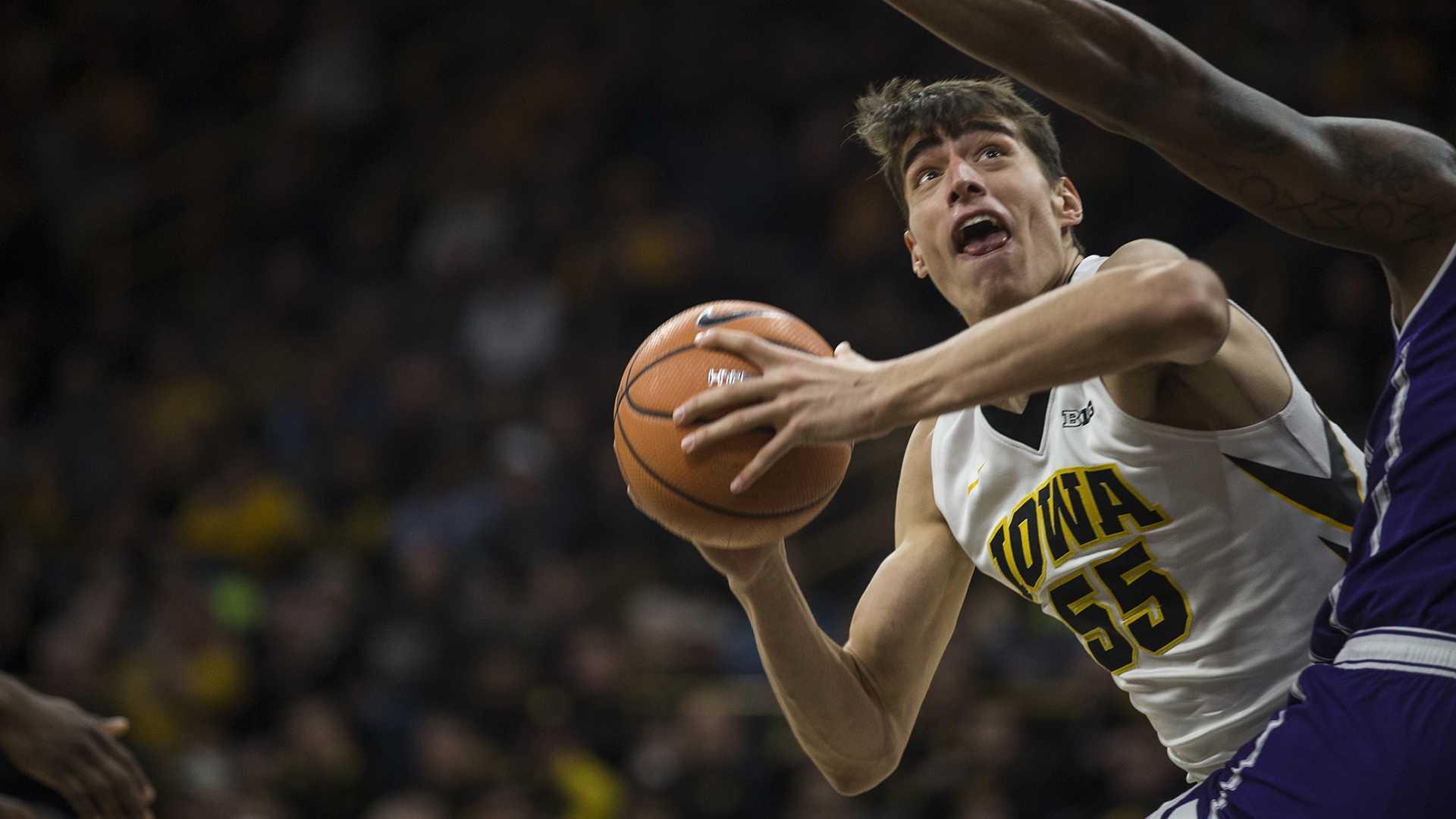 Photos: Iowa men's basketball vs. Northwestern (Senior Day)