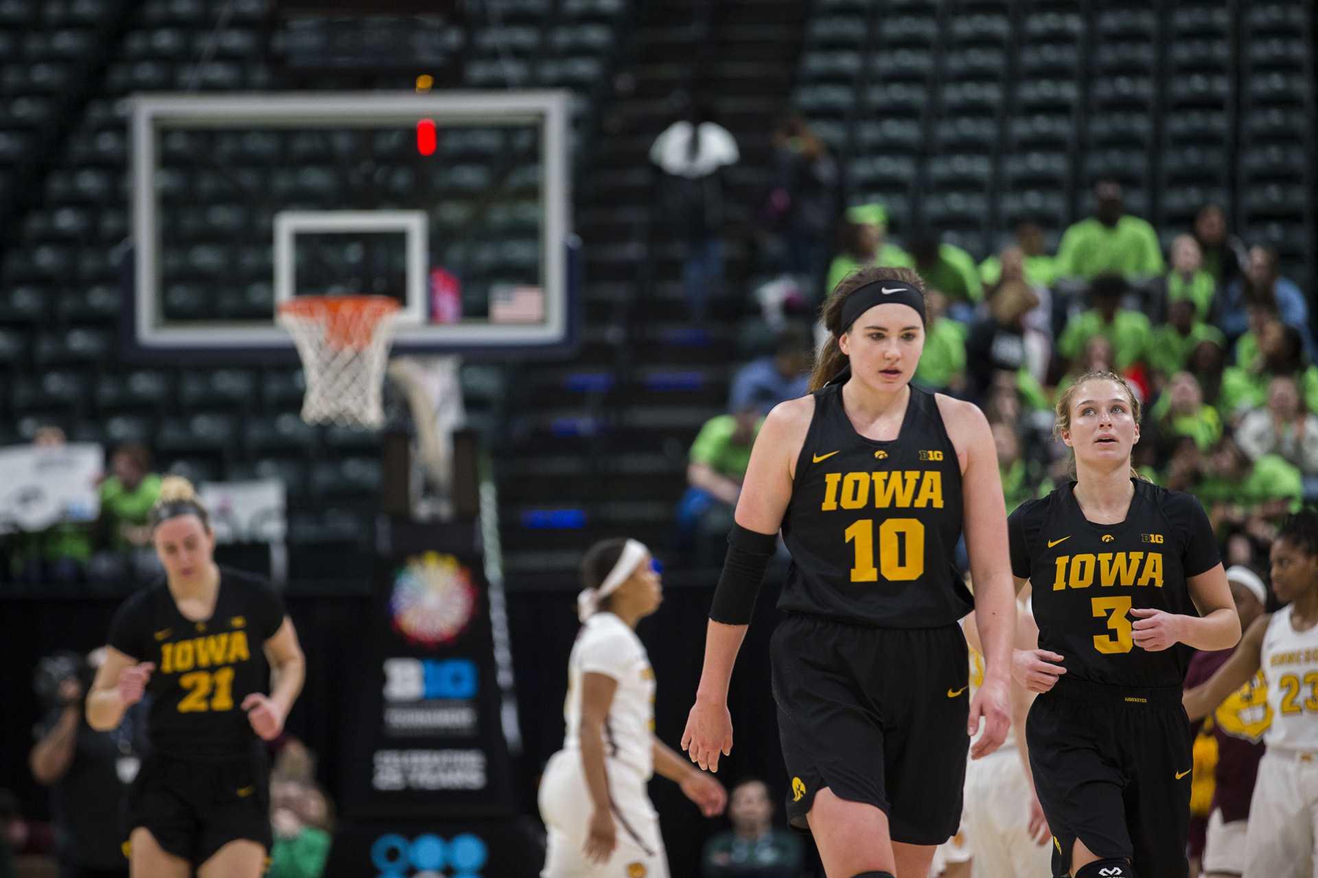 Photos: Big Ten tournament women's basketball vs. Minnesota