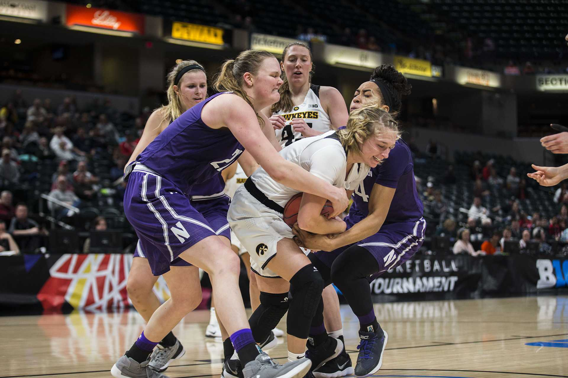 Photos: Big Ten tournament women's basketball vs. Northwestern