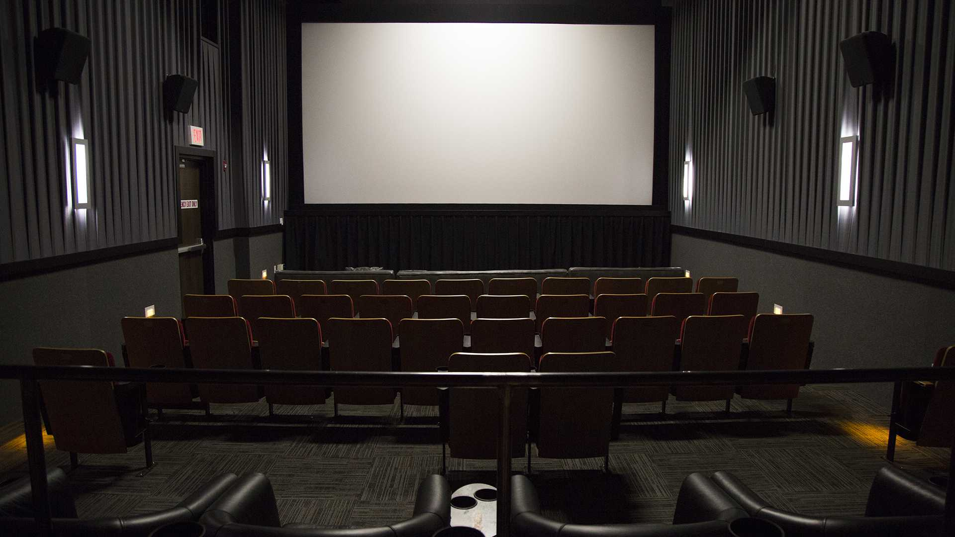 The theatre at FIlm Scene is seen on Dec. 9, 2015. (File Photo/The Daily Iowan)