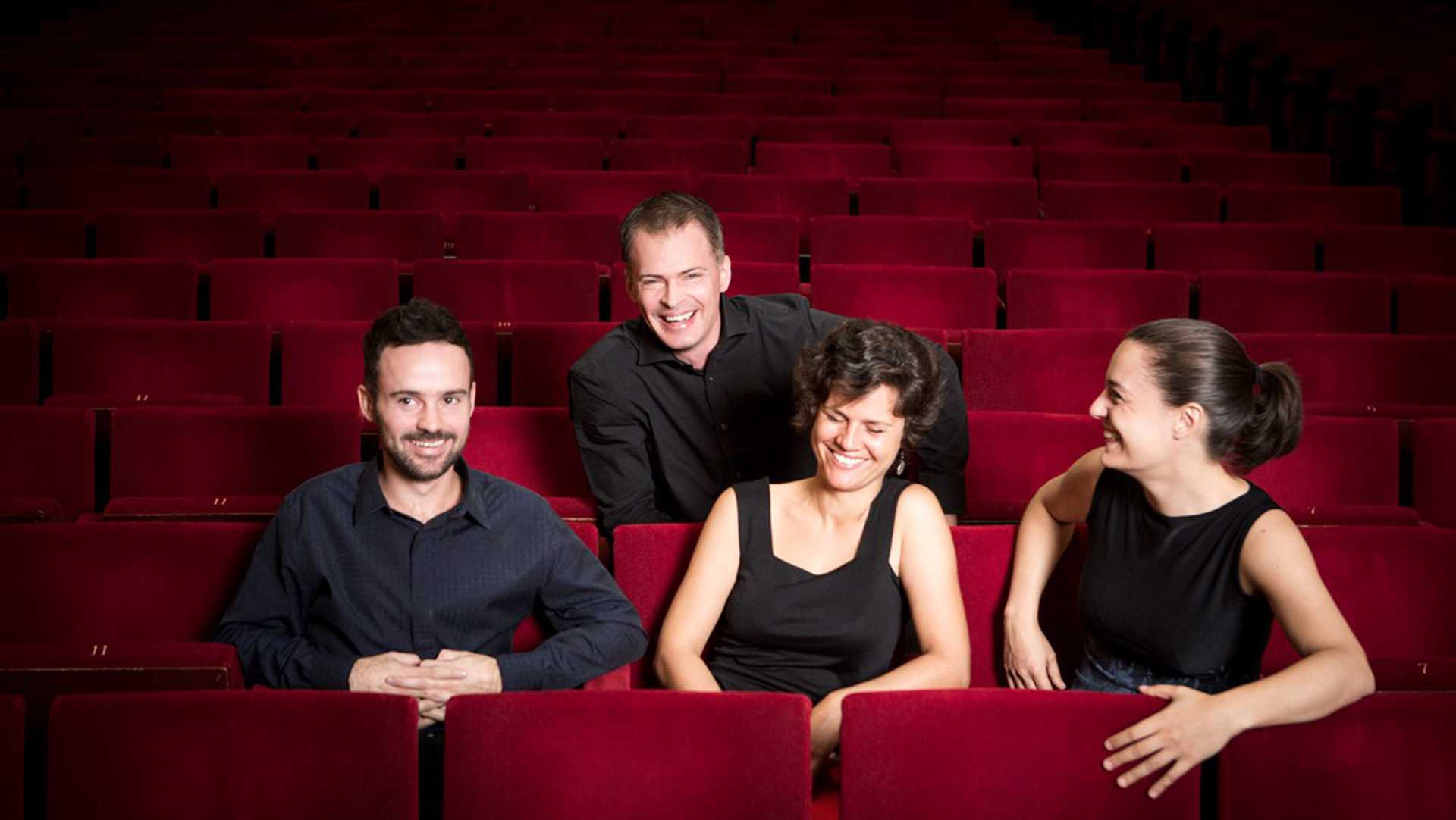 The Elias String Quartet visits Hancher, exhibiting international collaboration