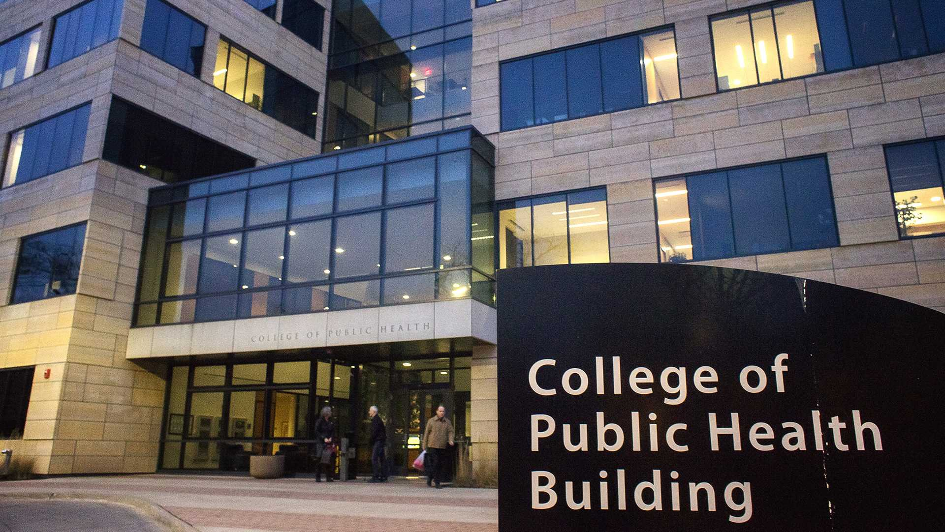 The College of Public Health Building as seen on Thursday, Dec. 14, 2017. (James Year/The Daily Iowan)