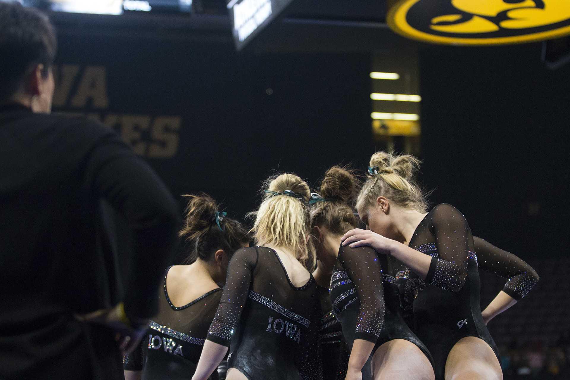 Photos: Iowa women's gymnastics vs SEMO