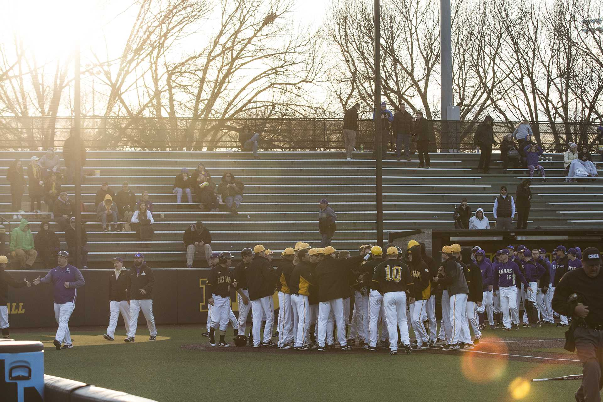 Photos: Iowa baseball vs. Loras College