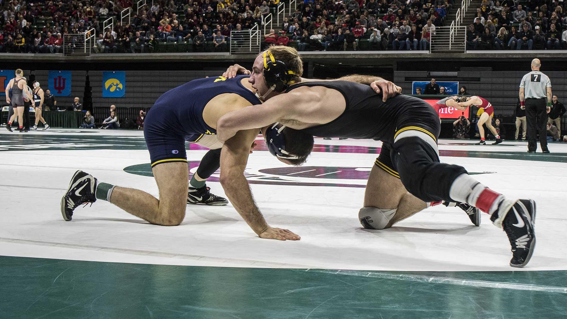 Marinelli upset highlights Session 1 at Big Tens