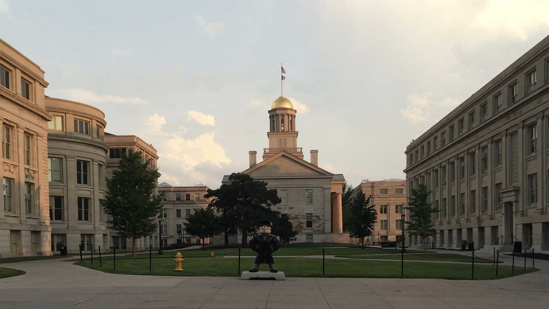 The Old Capitol is seen on July 16, 2015, the day DI reporter Marissa Payne, then a high school senior, first toured the UI campus. (Marissa Payne/The Daily Iowan)