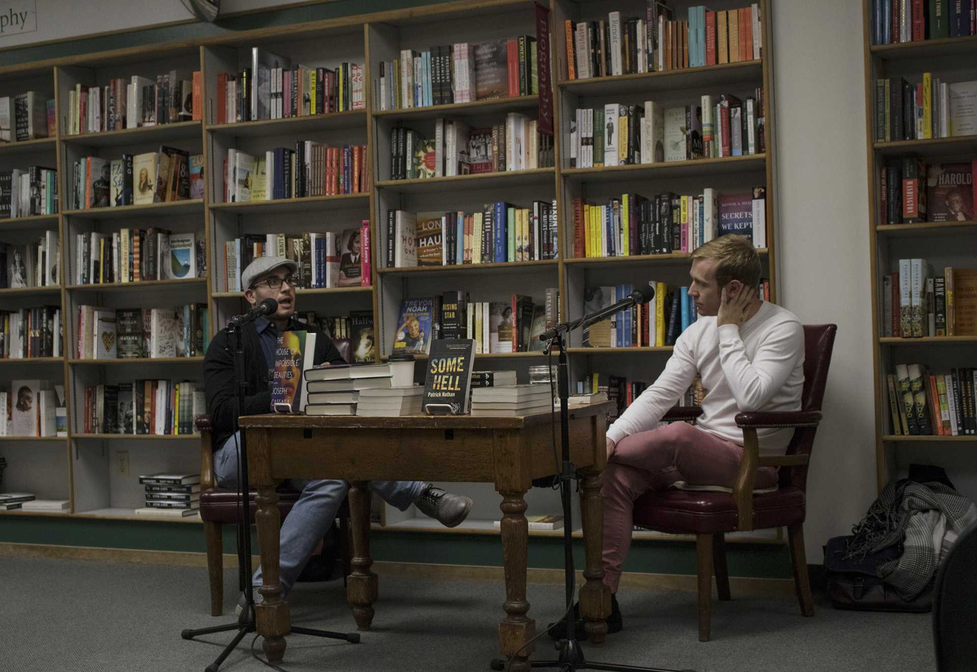 """Patrick Nathan discusses debut novel """"Some Hell"""" at Prairie Lights"""