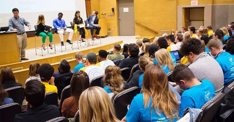 UISG presidential candidates debate university issues
