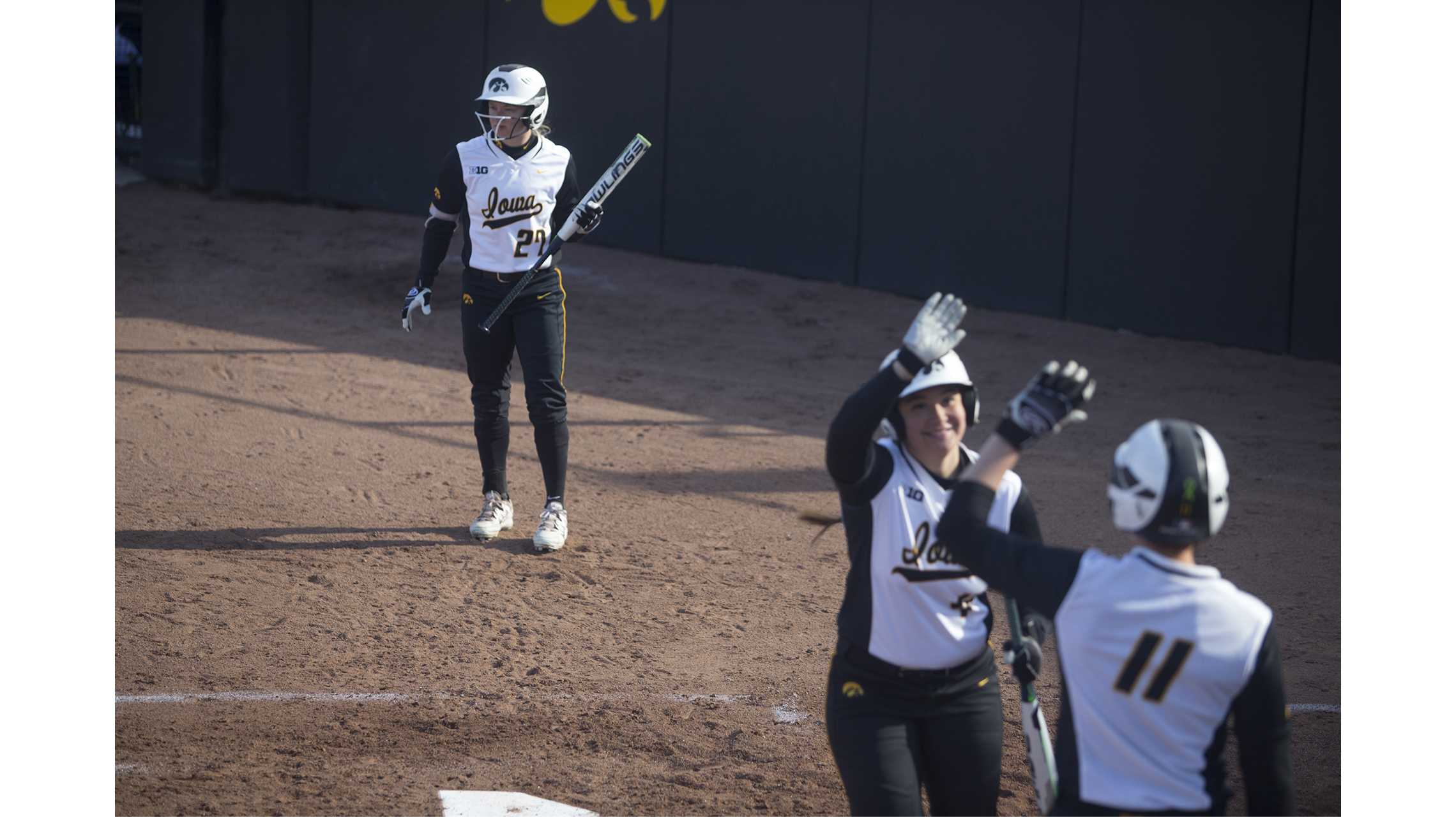 Photos: Iowa softball vs. SDSU