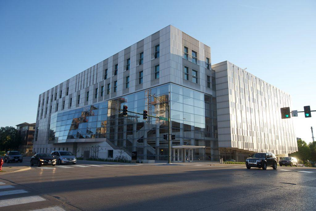The+University+of+Iowa+School+of+Music+is+being+moved+to+the+newly+built+Voxman+Building.+The+building+is+located+at+95+East+Burlington+Street.+%28The+Daily+Iowan%2FKarley+FInkel%29