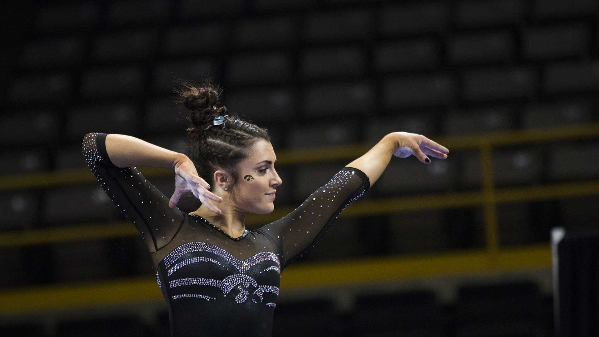 Iowa gymnastics has shown up like a dark horse