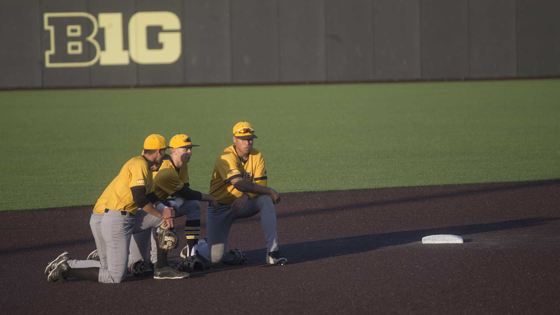 Photos: Iowa baseball vs. Milwaukee