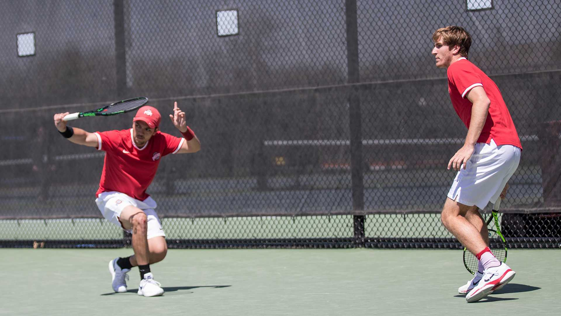 Photos: Big Ten men's tennis conference final