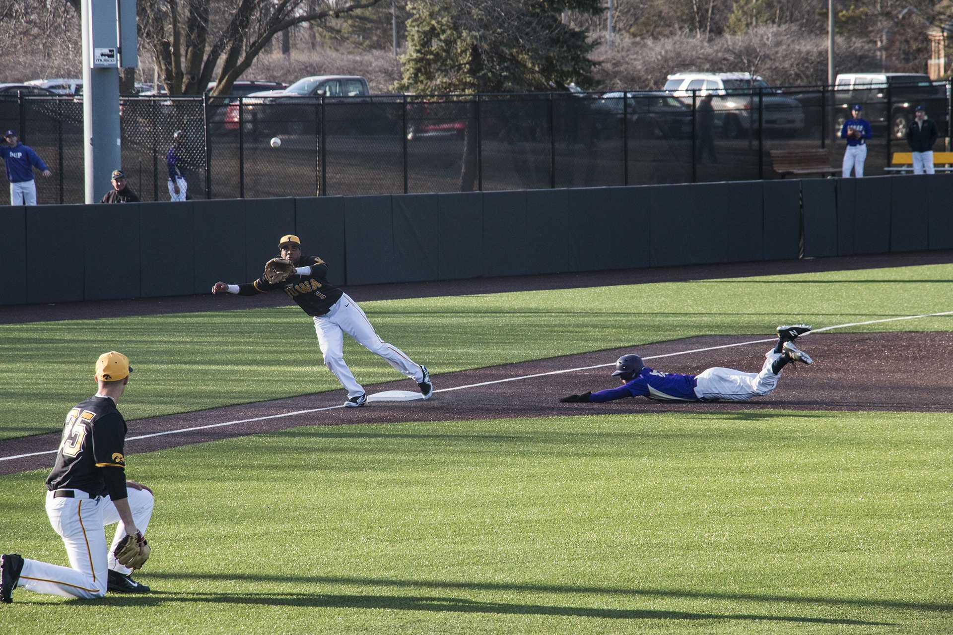 Lorenzo Elion — Iowa's clutch baseball gene
