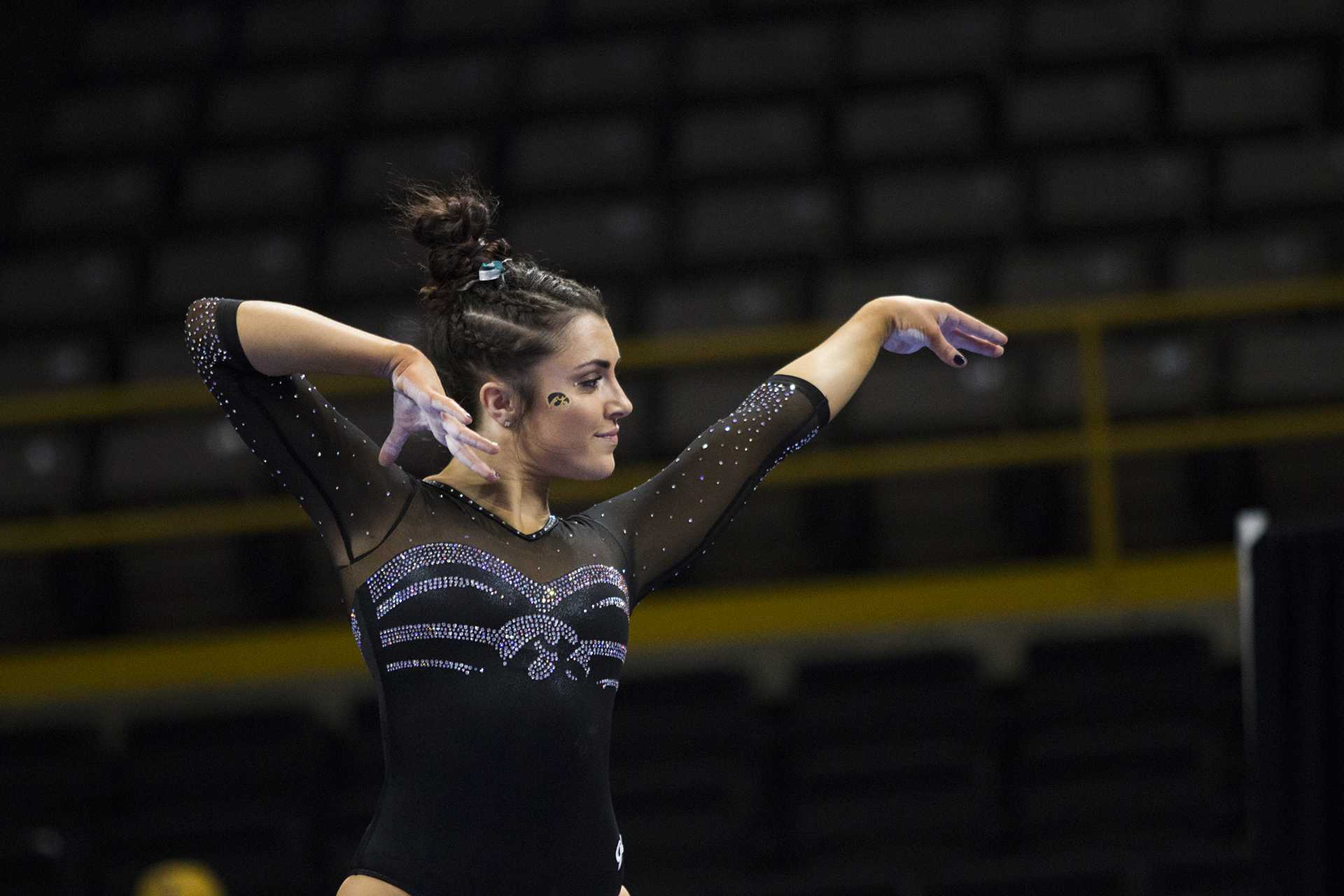 Postseason competition ramps up for Iowa gymnastics