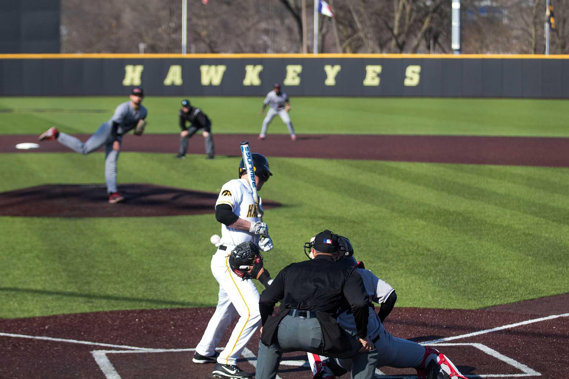 Photos: Iowa baseball vs. Northern Illinois