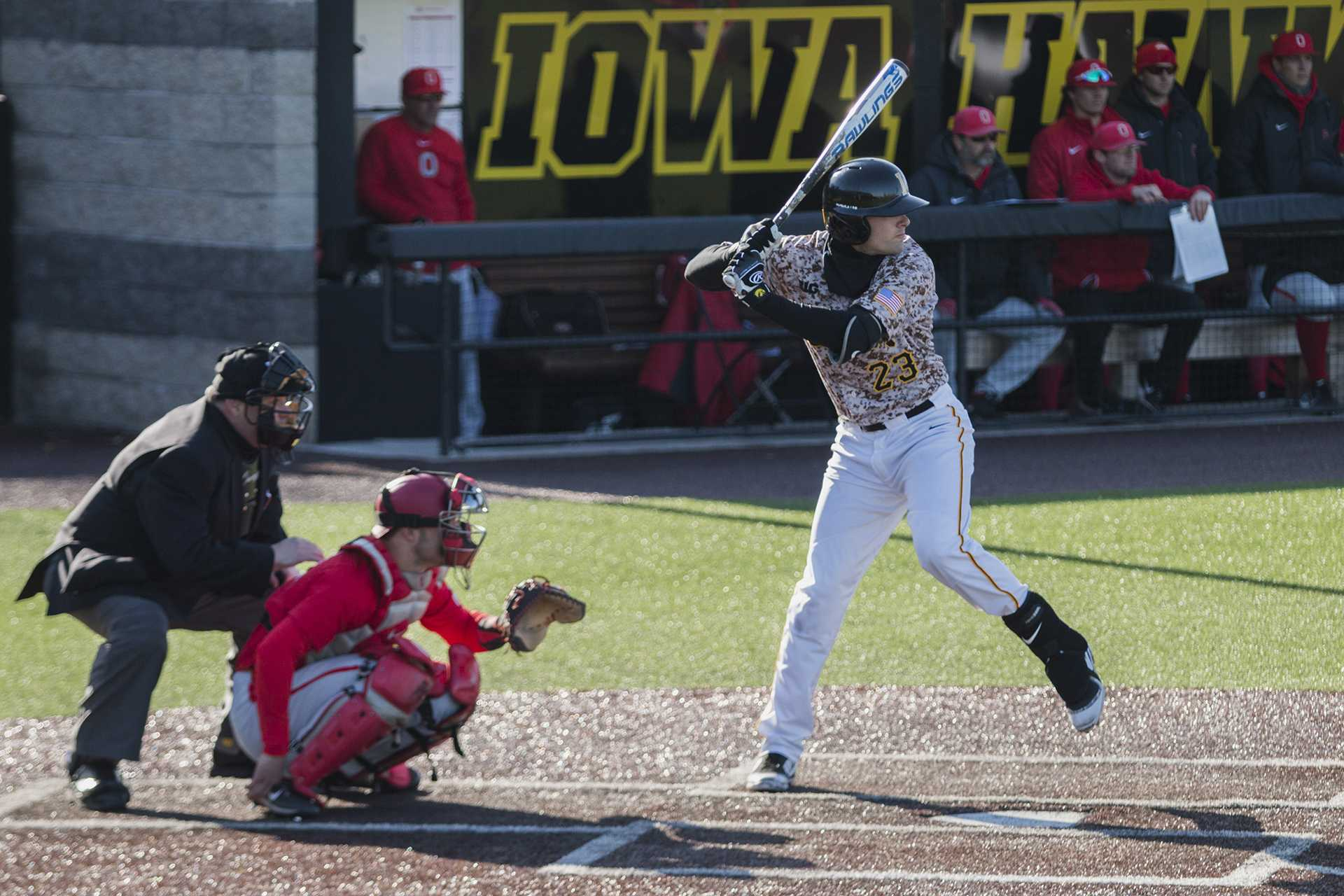 Iowa shortstop Kyle Crowl leaves Hawkeye baseball
