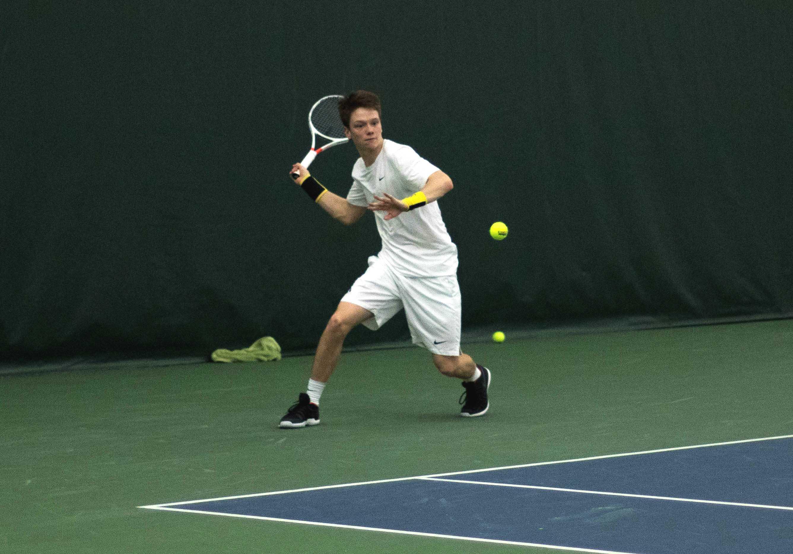 Iowa men's tennis heads east