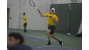 Iowa men's tennis drops two conference matches